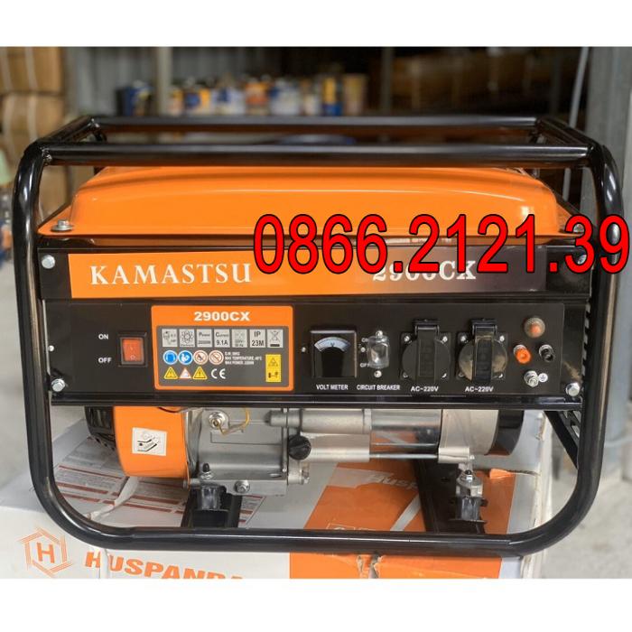 Máy Phát Điện Chạy Xăng 2Kw Kamastsu 2900CX