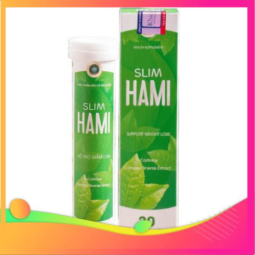 Viên sủi giảm cân Hami Slim- Chính hãng- An toàn- Hiệu quả - TA001 thumbnail