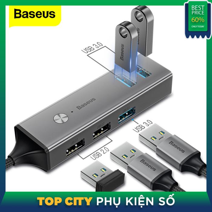 Bảng giá Baseus Multi USB C HUB sang USB 3.0 USB3. Bộ chia HUB HUB loại 0 cho Macbook Pro Air Bộ chuyển đổi USB-C Type-C USB-C Type-C Phong Vũ