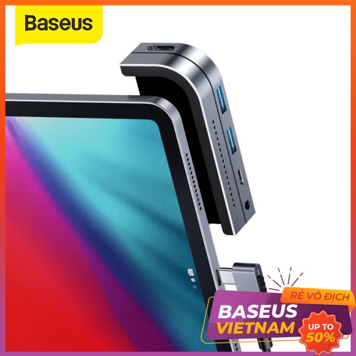 Bảng giá Hub chuyển 6 trong 1 Baseus Bend Angle No.7 dùng cho iPad Pro 2018 11/12.9 inches Phong Vũ