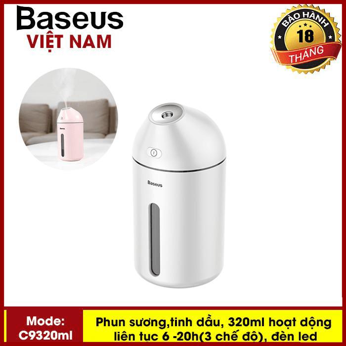 Máy phun sương, tinh dầu đa năng tạo độ ẩm chăm sóc da thương hiệu cao cấp Baseus C9 dung tích 320ml - Phân phối bởi TopLink